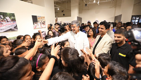 IGNCA hosts exhibition commemorating 5 years of Nobel Peace Prize announcement for Mr. Satyarthi