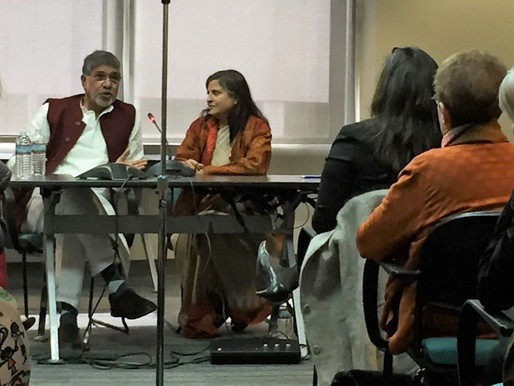 Nobel Peace Laureate addresses the Civil Society in the US