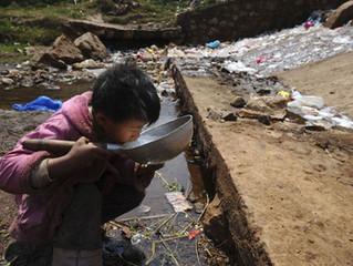 Problemas de escasez de agua.