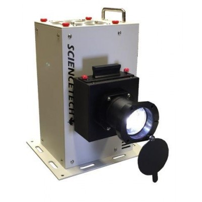 Small Area Lens Based Solar Simulators