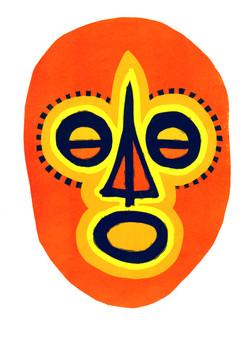 Masque Mexicain lino perdu.jpg