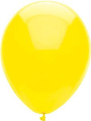 "Sun Yellow Latex Balloon 11"""