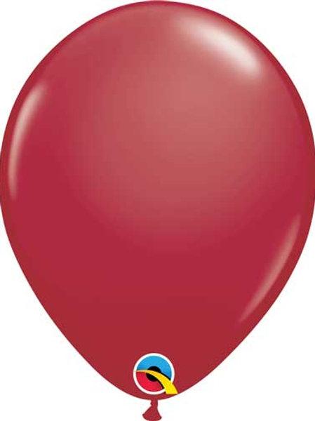 """Maroon Latex Balloon 11"""""""