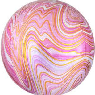 """Orbz Marblez Pink - 15"""""""