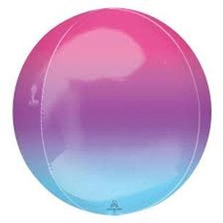 "Orbz Ombre Pink/Purple/Blue - 15"""