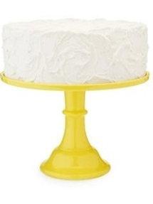 Yellow Melamine Cake Stand
