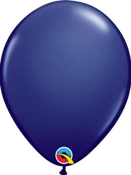 """Navy Latex Balloon 11"""""""
