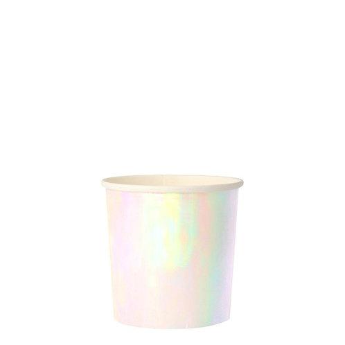 Iridescent Tumbler Cups