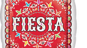 Fiesta Papel Picado Foil Balloon