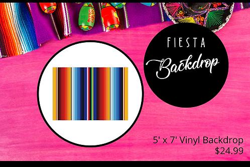 Fiesta Backdrop