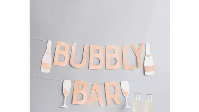 Bubbly Bar Garland