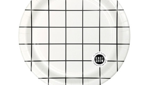 Windowpane Large Party Plate