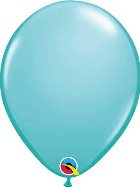 "Caribbean Blue Latex Balloon 11"""