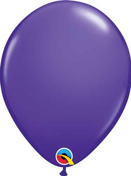 "Violet Latex Balloon 11"""