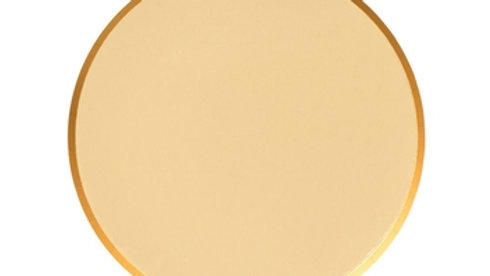 Gold Plates 7 inch