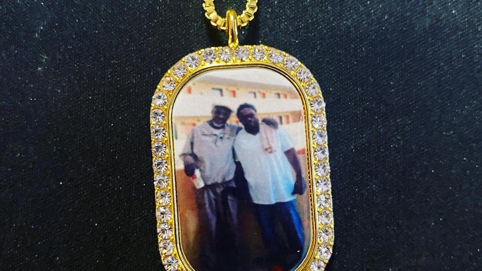 Custom Jewelry Oval, Key, DogTag