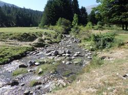 Petit ruisseau à Payolle