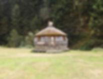 Cabane d'accueil