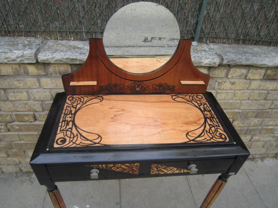 Coiffeuse Art Nouveau