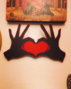 Petite main coeur