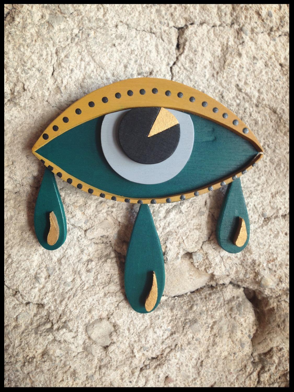 La larme à l'oeil