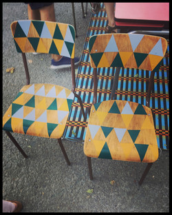 Custom chaises