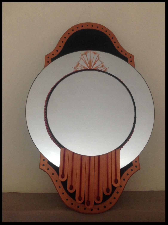 Miroir inspiration Art-déco