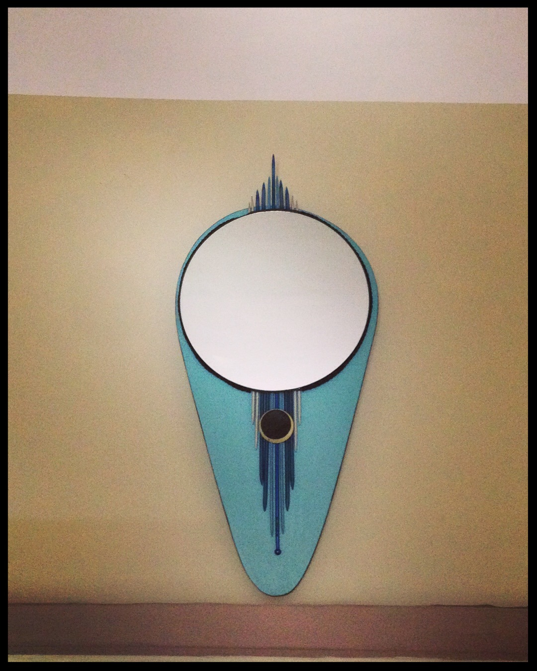 Miroir esprit année 50