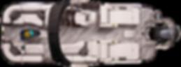 G3 Diamond Elite 324 overhead view