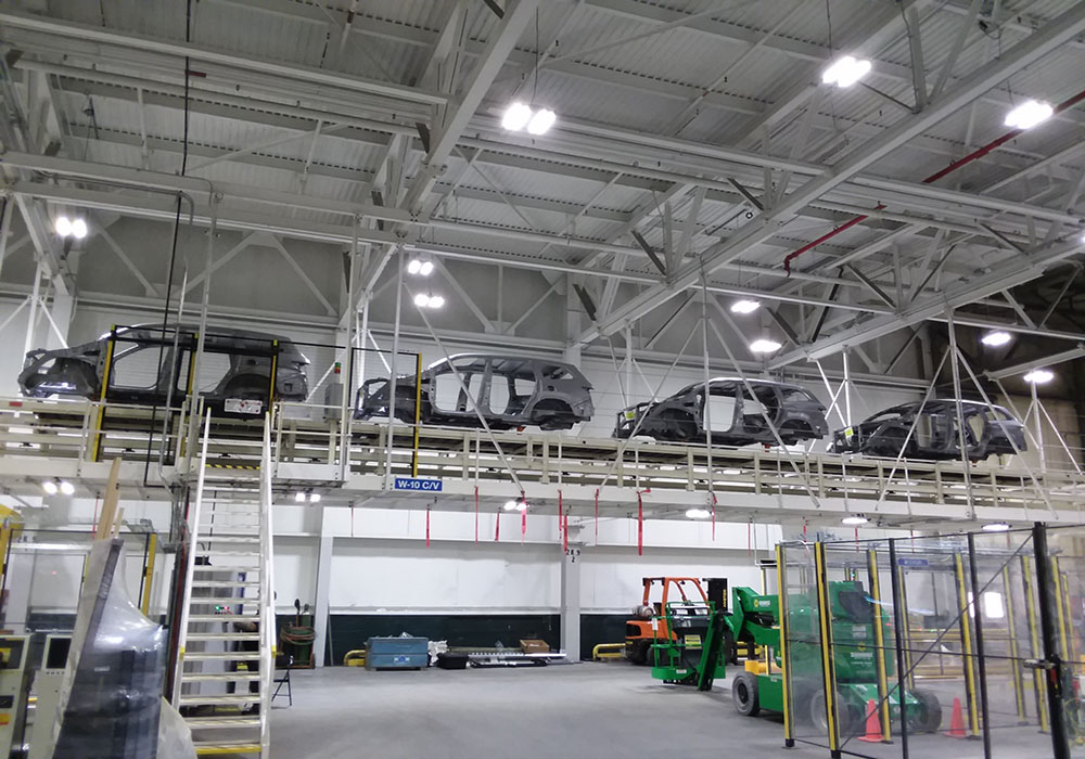 Accumulating Slat Conveyor