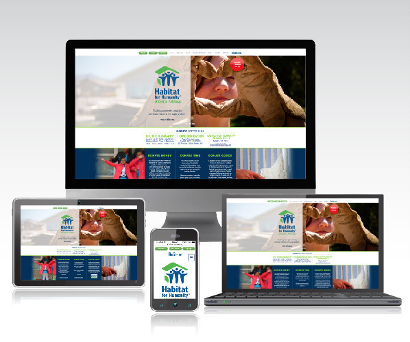 Habitat For Humanity Of Central Arkansas Hired Group Five West To Design Their New Website