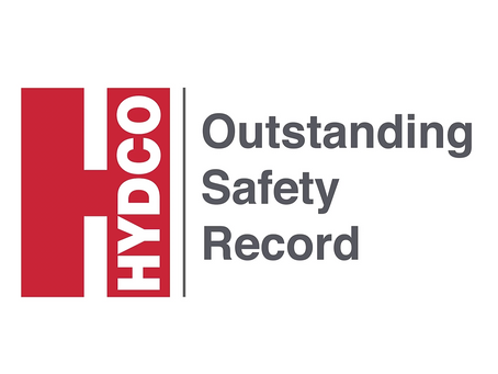 Hydco Receives AGC Safety Award