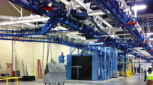 Overhead Conveyors Streamline the Assembly Process
