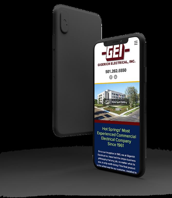 Gigerich-iPhone-Website