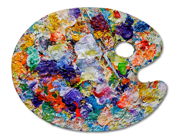 artist-palette-with-colorful-paint-spots