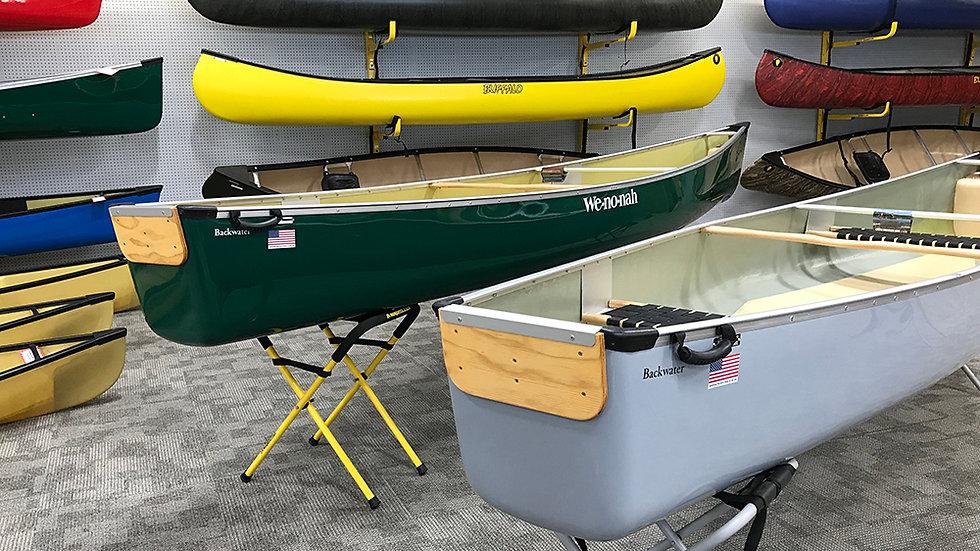 Wenonah Canoes - Backwater - Blue/Gray