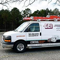 Gigerich Electrical Van