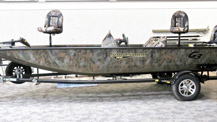 G3 - Sportsman 1810 All-Welded Aluminum Bass Boat