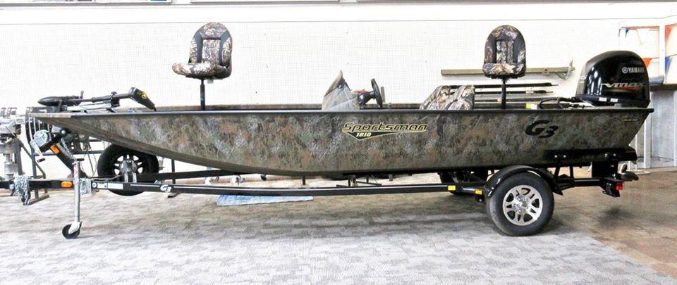 2019 G3 Sportsman 1810 All-Welded Aluminum Bass Boat - $24,800