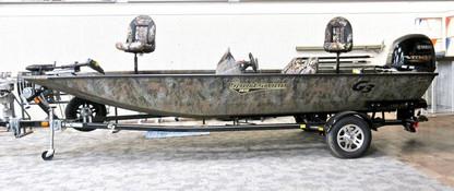 2021 G3 Sportsman 1810 All-Welded Aluminum Bass Boat