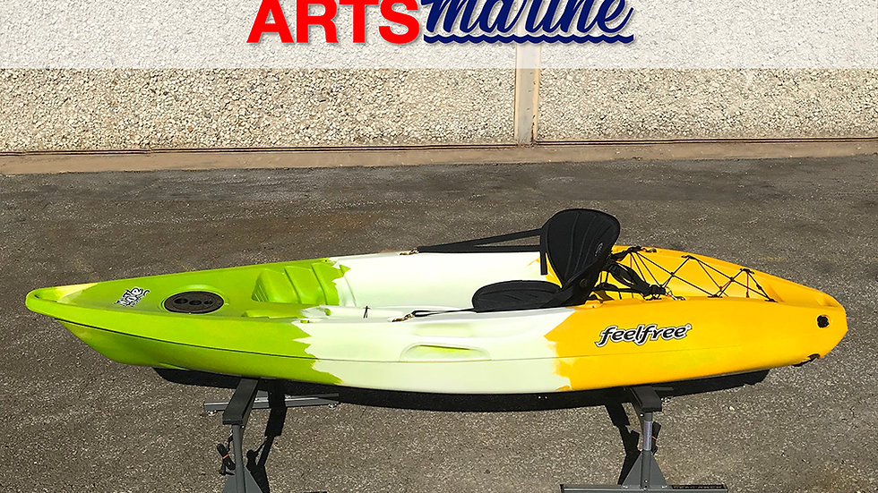 Feel Free  Kayaks - Move- Green/white/yellow