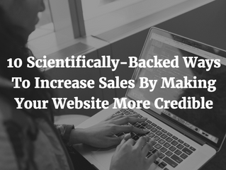 10 Ways To Increase Sales By Making Your Website More Credible