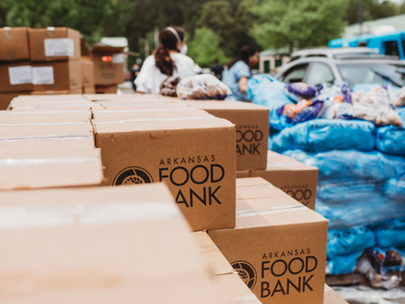 Telcoe Gives Back To Arkansas Food Bank