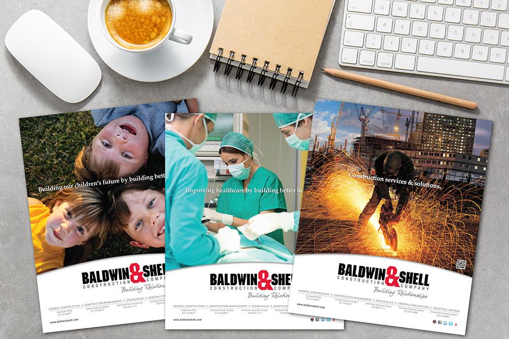Baldwin Shell print marketing