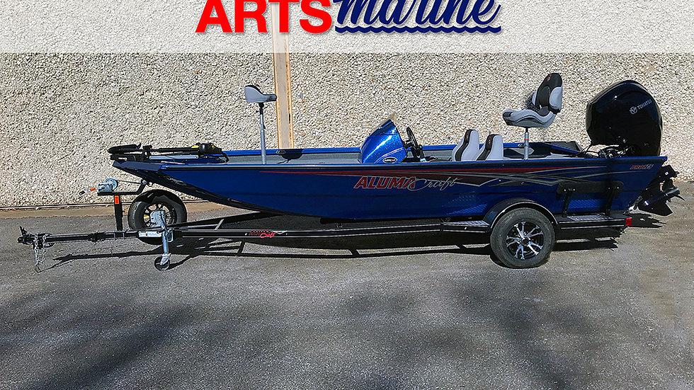Alumacraft -  Pro175 - Deep  Blue with Sparkle -  90HP Tohatsu Motor