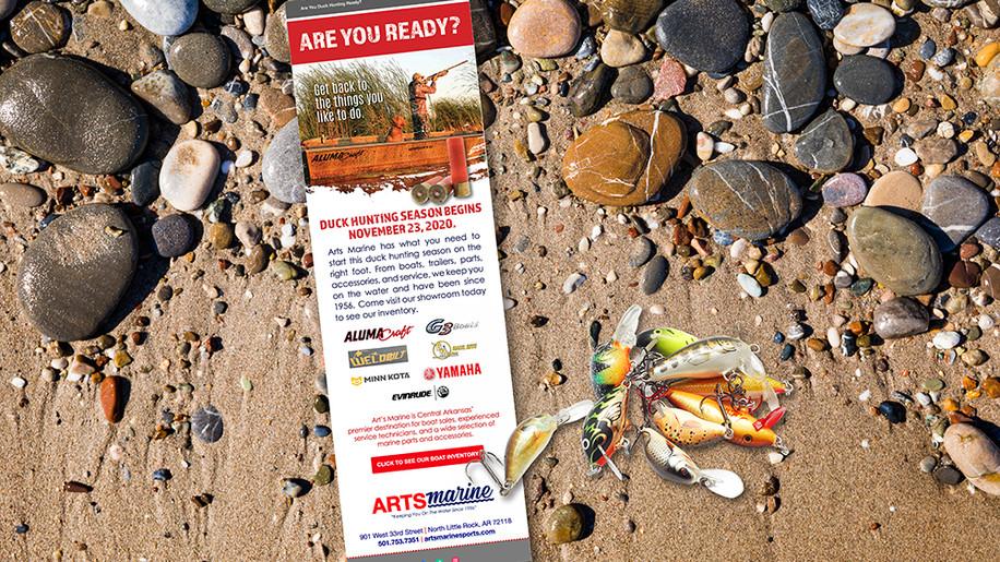 Arts Marine email marketing