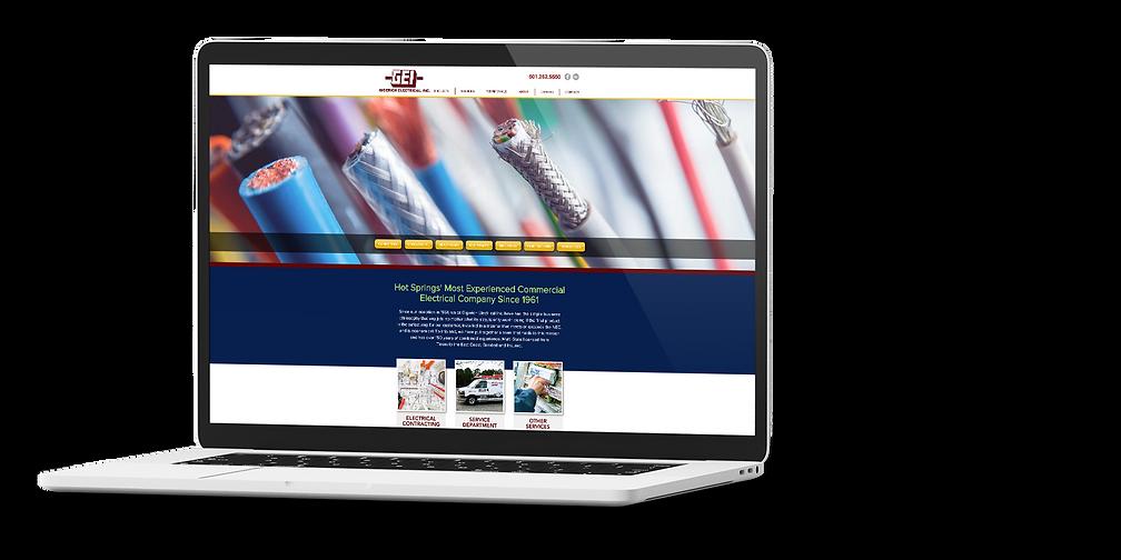 Gigerich - Website - Laptop