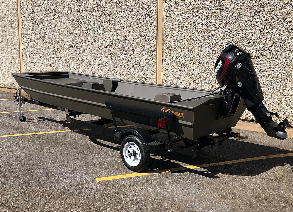 Weldbilt - 11542 Flat Bottom Stick Steer - $10,800