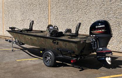 2021 G3 Sportsman 1710 - Mossy Oak - $28,500