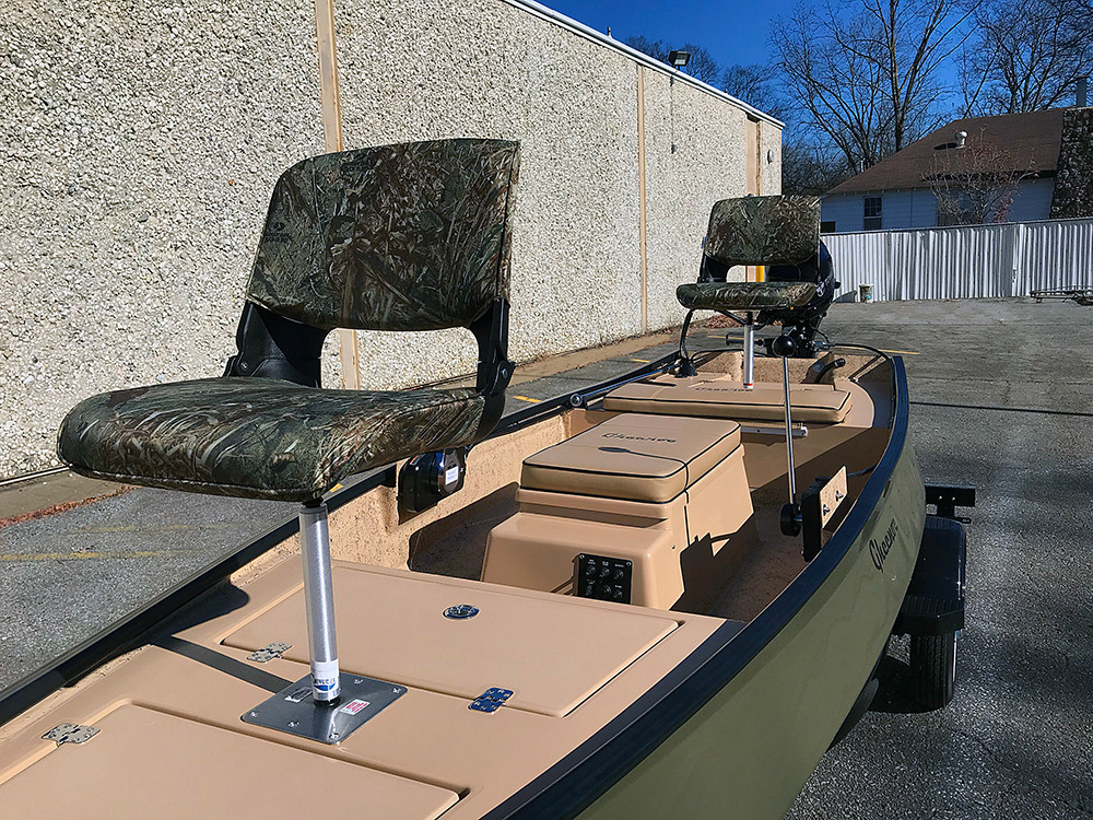 Gheenoe - 2021 Tide 25 Stick Steer- $12,600